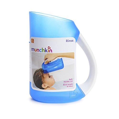 Munchkin Soft Rim Shampoo rinser Blue