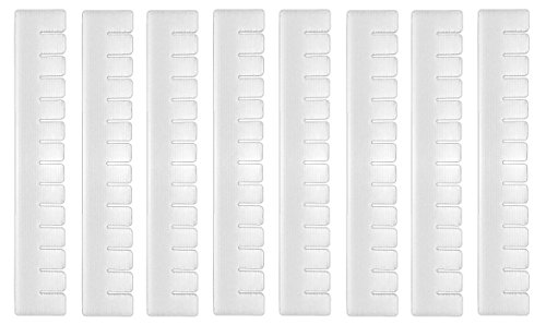 HAC24 8X Schubladeneinteiler | Schubladentrenner | Schubladenelement Schubladeneinsatz | Fachteiler -