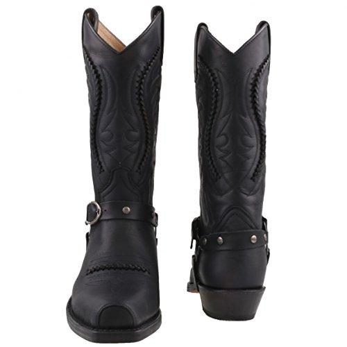 Sendra cowboystiefel 3434 noir Noir - Noir