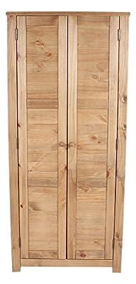 Core Products HC520 Two Door Wardrobe, Antique Wax - cheap UK light shop.