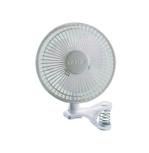 Lasko 2004W 2Velocidades Clip ventilador 15,2cm), color blanco