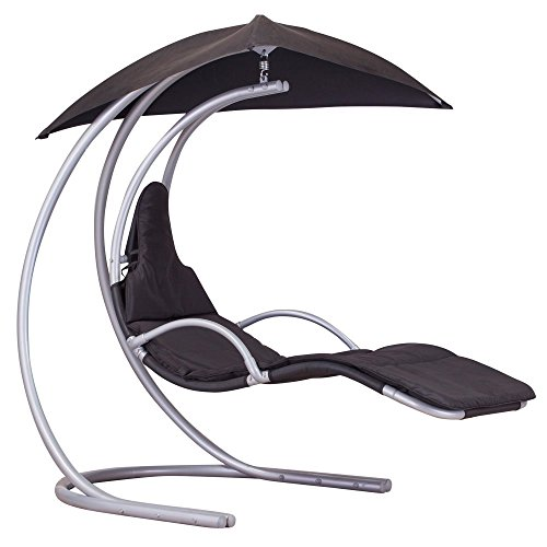 Royalcraft Dark Grey Helicopter Swing Chair