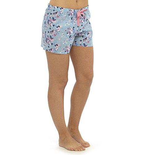 Womens Ladies Pyjama Shorts Lounge Pants PJ Bottom Nightwear Summer Check Floral - 41gy2SV6bkL - Womens Ladies Pyjama Shorts Lounge Pants PJ Bottom Nightwear Summer Check Floral