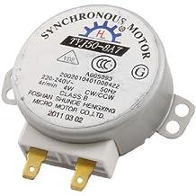 sourcingmap® Micro motore sincrono per forni a microonde AC 220-240V 4W 4RPM