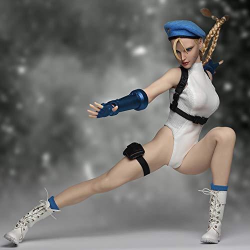 Clicked Action Figure Modell Zubehör Das Special Forces Fighting Goddess-Set Enthält Hand- Und Kopfskulpturen Für 12 Zoll Actionfiguren Puppen,A