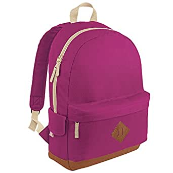 Bagbase Heritage Backpack Colour Fuchsia Size O / S