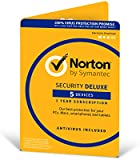 Norton Security Deluxe 3.0 - 1 User, 5 Devices, 12 Months License Card (PC/Mac)