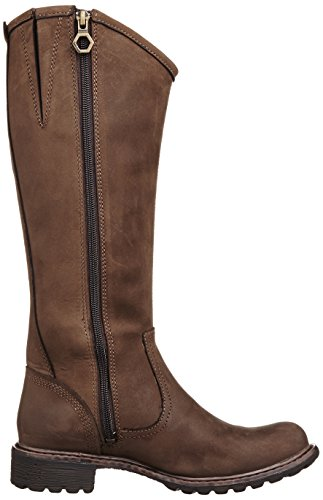 Timberland Stoddard donne Dark Marrone Tall Marrone scuro