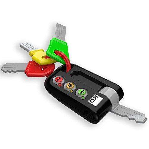 Tech-Too DES13810 Meine ersten Schlüssel, Autoschlüssel für Babys und Kleinkinder, Spielzeugschlüssel mit Sound und Licht, Spielzeug Schlüsselbund (Süß Geburtstag 16 Ideen)