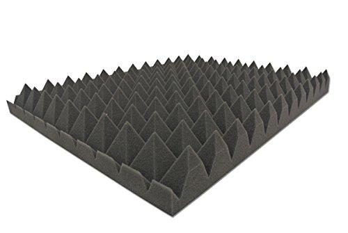 Baldiflex Pannello Fonoassorbente Piramidale 100x100 cm