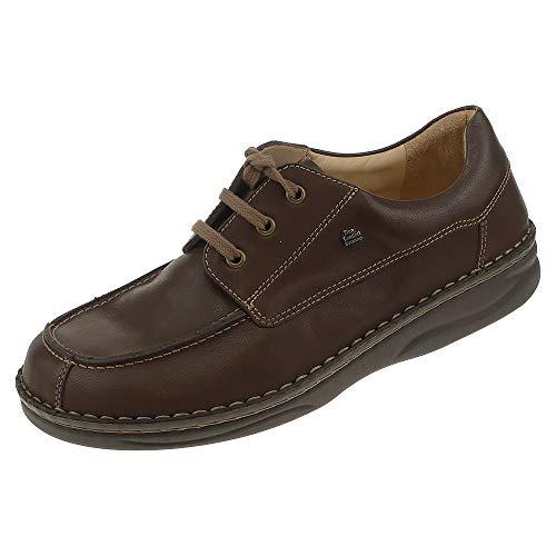 Finn Comfort - Zapatos de Cordones de Cuero para Mujer Marrón marrón Oscuro  41 1  c309f5ee7f08