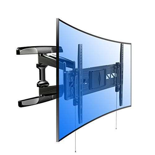FLEXI MOUNTS R2 CURVED TV DE PARED (PARA TELEVISOR EXTRAGRANDES  SOPORTE DE PARED ADECUADO PARA 32 - 70 PULGADAS  MAX  45 KG  VESA 300 X 100 HASTA 600 X 400)  COLOR NEGRO