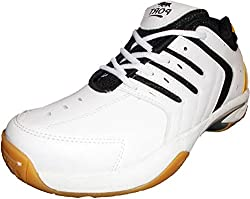 Port Womens Synthetic White Bigshow Badminton Sports Shoe (9 IND/UK)