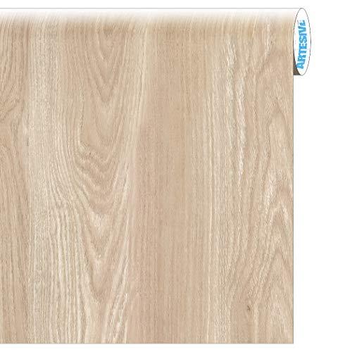 Artesive WD-024 Quercia Trattata larg. 60 cm AL METRO LINEARE - Pellicola Adesiva in vinile effetto legno per interni per rinnovare mobili, porte e oggetti di casa