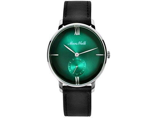 Herren Uhren Luxus klassische Entwurfs beiläufige Geschäfts analoge Quarz-Uhr mit Lederband römische Ziffer einfache Mode-Kleid Armbanduhr