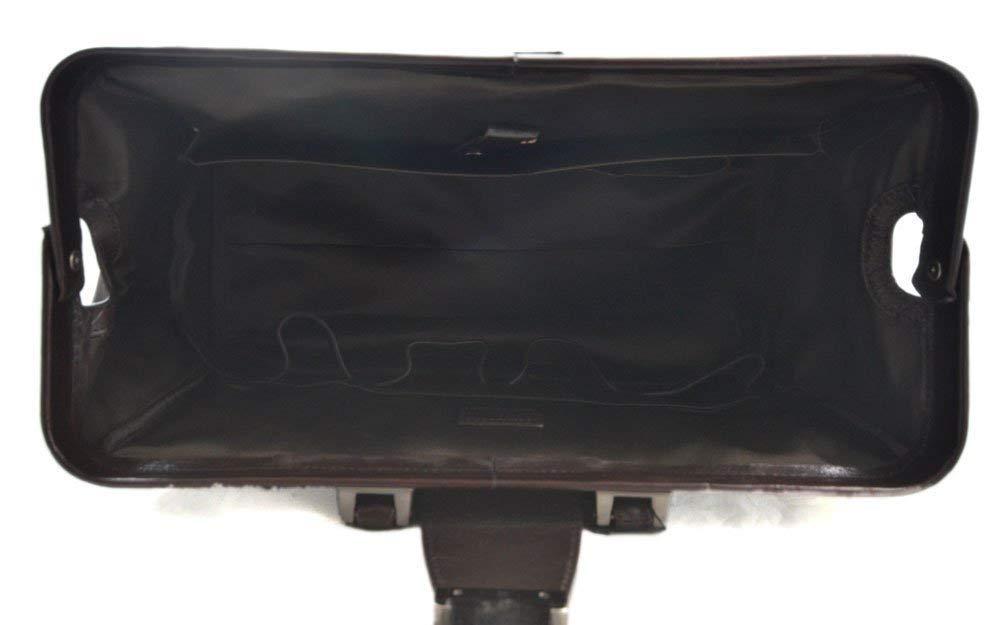 Leather doctor bag messenger handbag ladies men leatherbag briefcase vintage duffle bag dark brown made in Italy luxury bag travel weekender - handmade-bags