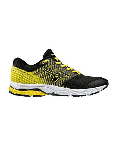 Mizuno Scarpe Running Uomo - Wave Prodigy 2 (Black/Yellow) (44.5 EU)