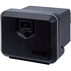 LKW Staukasten aus Kunststoff 480x400x400mm, 39 ltr, Werkzeugkasten, Staubox, Deichselkasten, Deichselbox