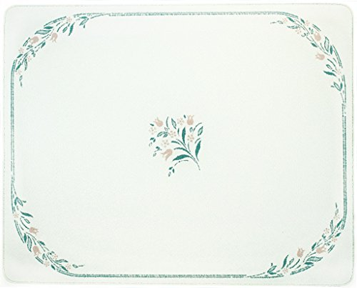 Corelle 20 X 16 Rosemarie Counter Saver Tempered Glass Cutting Board, 92016VLTH by CORELLE - Corelle Rosemarie