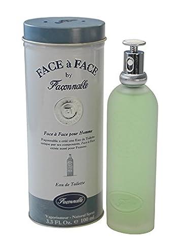 Faconnable Face a Face Pour Homme Eau de Toilette Vaporisateur 100ml