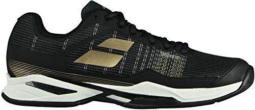 Babolat Uomini Jet Mach I Clay Scarpe Da Tennis Scarpa Per Terra Rossa Nero - Oro 42,5