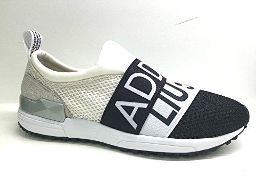 Liu Jo femmes chaussures Sneaker S16157J0936 00128 avec élastiques monette Gris