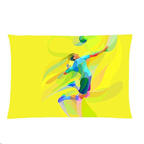 For Boy 300Mmx400Mm Pillow Case Cotton Print With Volleyball Specificity