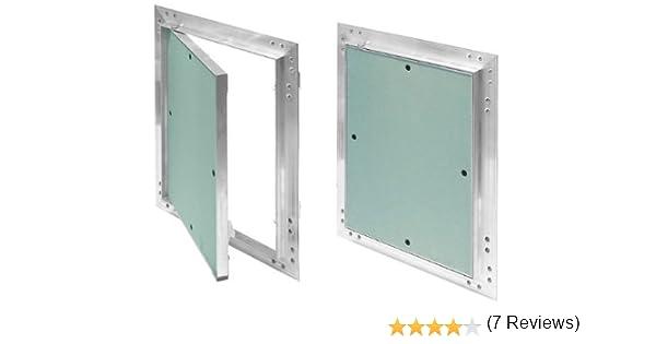 nettoyage Convient pour locaux humides entretien Trappe de r/évision Vert 500/x 600/mm En placo//carton-pl/âtre 12,5/mm KRAL22 Avec cadre en aluminium Trappe de r/évision