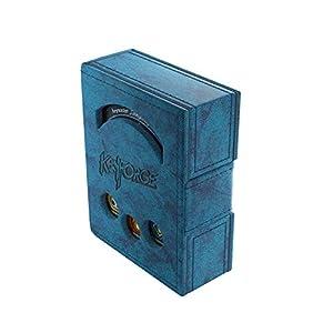 GAMEGEN!C- Keyforge Blue Deck Book, Color Azul (GGS20005)