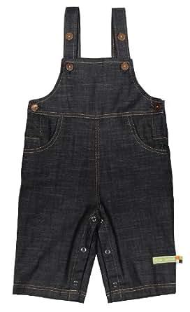 Loud + Proud Unisex Baby Organic Cotton Jeans Dungarees
