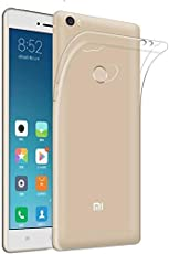 Etrail Plain Silicon Designer Mobile Silicon Back Cover New Designer Cases & Covers for Mi Max 2