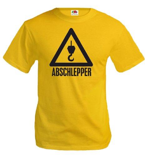 T-Shirt Abschlepper Yellow-Black