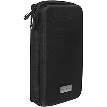 AmazonBasics Universal Travel Case for Small Electronics and Accessories (Black)