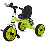 #10: GoodLuck Baybee - Children Plug and Play Kids Tricycle Trike with Bugle Horn and Water Bottle Kid's for 2-5 Years Baby Tricycle Ride on Outdoor | Suitable Babies for Boys & Girls - (Green)