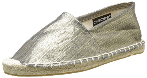 PiecesHaisha - Espadrillas Donna , Oro (Or (Gold Colour)), 40