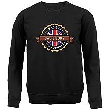 Made In SALISBURY 100% Authentic - Unisex Sweatshirt / Sweater - 8 Colours