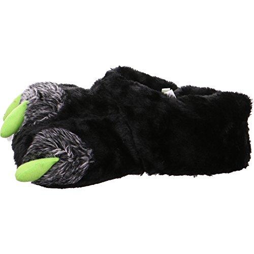 Hengst 986306, Pantofole uomo Nero