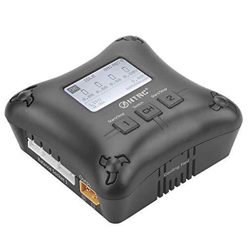 LiPo Balance Ladegerät Duo Mini RC-Ladegerät Dual Port 20Wx2 2A x2 H4AC für 2S 3S 4S LiPo-Akkus (Rc Lipo-akkus, 4s)