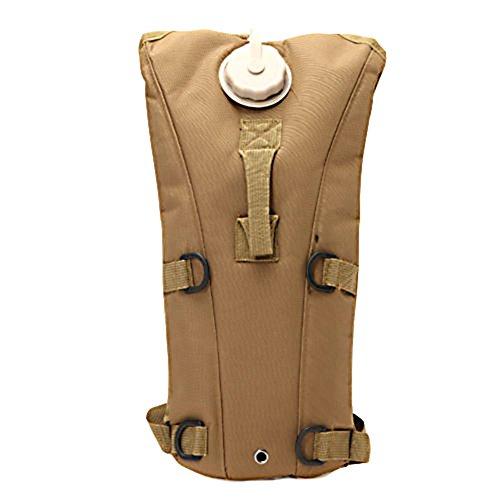 Tasche von Wasser Rucksack Portable Tasche für Radfahren Camping Hiking Fishing Rucksack Wasser kompakt 3L Kaki