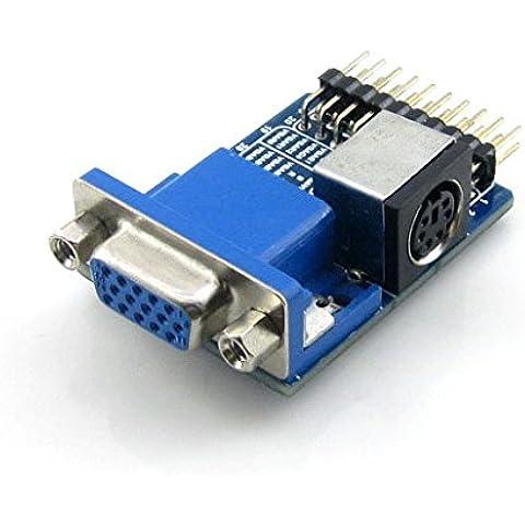VGA PS2 Board/Accessory Board For Testing VGA, PS2