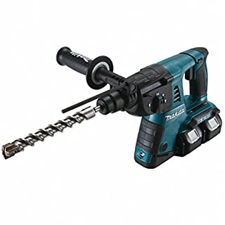 Makita Battery Rotary Hammer for SDS-Plus 2 x 18V without Battery and Charger DHR263Z