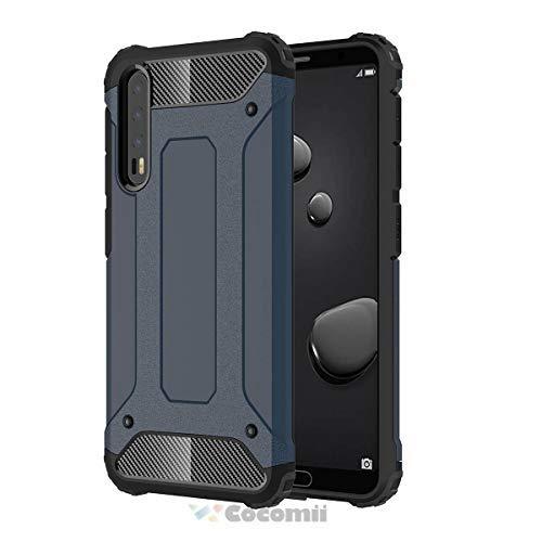 Cocomii Commando Armor Huawei P20 Pro Hülle [Strapazierfähig] Taktisch Griff Staubgeschützt Stoßfest Gehäuse [Militärisch Verteidiger] Case Schutzhülle for Huawei P20 Pro (C.Metal Slate)