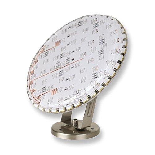 projecteurs subaquatiques à LED projecteurs Eros tagweiss chrome 12W Ø: 18cm