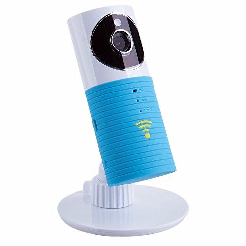 Galleria fotografica FancyTech Clever dog Baby Monitor 720P HD IP Camera - Telecamera IP di Sorveglianza con Motion Detection, Audio Bidirezionale, P2P, Modalità Notturna Infrarossi – Videosorveglianza Interno - Blu