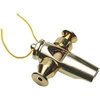 LP Latin Percussion LP352 - Silbato de aluminio anodizado y dorado