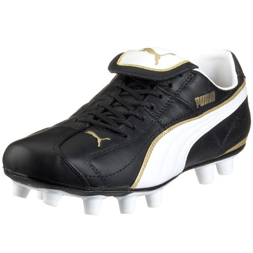 Puma Liga XL i FG 101595 01, Herren Sportschuhe - Fußball, schwarzweiss, 44 EU