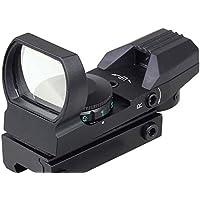 MAYMOC pista de 20 mm parte inferior ajustable.visión Multi retícula 4 rojo punto vista alcance montar cola accesorios de la cámara al aire libre
