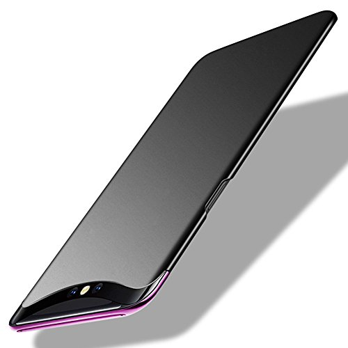 TopACE Oppo Find X Hülle, Bumper Hülle Oppo Find X Schutzhülle PC Plastik Harte Case Ultra Slim Matt Handyhülle Für Oppo Find X (Schwarz)