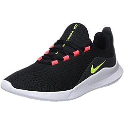 Nike Viale, Zapatillas de Running para Hombre, Negro (Black/Volt/Solar Red/Anthracite 001), 39 EU