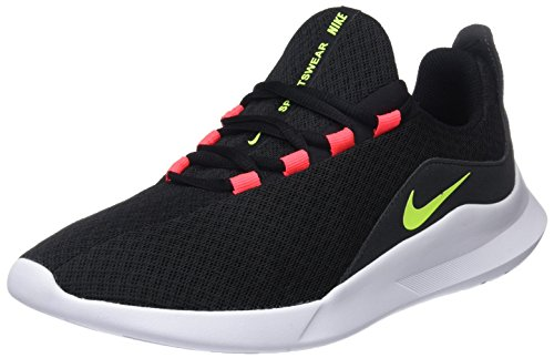 Nike viale, scarpe running uomo, (black/volt/solar red/anthracite 001), 40.5 eu